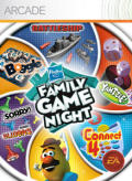 Hasbro Family Game Night Xbox 360 Front Cover