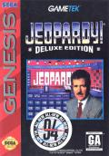 Jeopardy! Deluxe Edition Genesis Front Cover