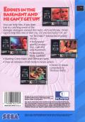 Double Switch SEGA CD Back Cover