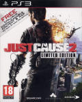 Just Cause 2 (Limited Edition) PlayStation 3 Front Cover Slipcase