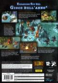 Warcraft III: The Frozen Throne Windows Back Cover