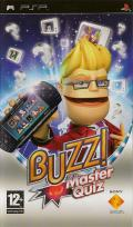 Buzz!: Master Quiz PSP Front Cover
