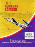 B-1 Nuclear Bomber Apple II Front Cover