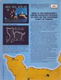 Battle for Normandy Atari 8-bit Back Cover