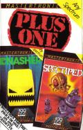 Plus One: Gnasher + Spectipede  ZX Spectrum Front Cover