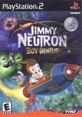 Jimmy Neutron: Boy Genius PlayStation 2 Front Cover