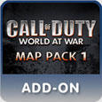 Call of Duty: World at War - Map Pack 1 PlayStation 3 Front Cover