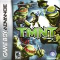 TMNT Game Boy Advance Front Cover