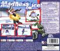 NHL Rock the Rink PlayStation Back Cover
