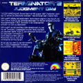 T2: Terminator 2 - Judgment Day Game Boy Back Cover