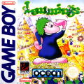 Lemmings Game Boy Front Cover
