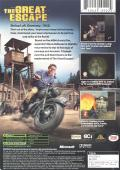 The Great Escape Xbox Back Cover