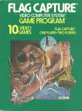 Flag Capture Atari 2600 Front Cover
