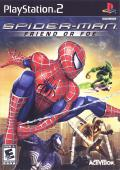 Spider-Man: Friend or Foe PlayStation 2 Front Cover