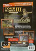 Tomb Raider: The Lost Artifact Windows Back Cover