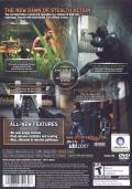Tom Clancy's Splinter Cell: Pandora Tomorrow PlayStation 2 Back Cover