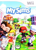 MySims Wii Front Cover