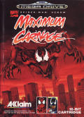 Spider-Man & Venom: Maximum Carnage Genesis Front Cover