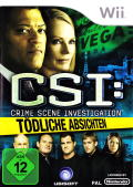 CSI: Crime Scene Investigation - Deadly Intent Wii Front Cover