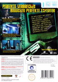 CSI: Crime Scene Investigation - Deadly Intent Wii Back Cover