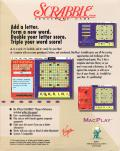 Deluxe Scrabble for Windows Macintosh Back Cover