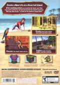 The Sims 2: Castaway PlayStation 2 Back Cover