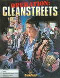 Operation: Cleanstreets Amiga Front Cover