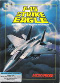 F-15 Strike Eagle PC Booter Front Cover