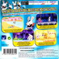Rayman Raving Rabbids Game Boy Advance Back Cover