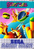 Fantasy Zone  Game Gear Front Cover