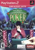 World Championship Poker PlayStation 2 Front Cover