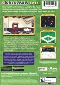 Intellivision Lives! Xbox Back Cover