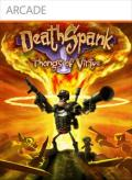 DeathSpank: Thongs of Virtue Xbox 360 Front Cover