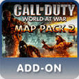 Call of Duty: World at War - Map Pack 2 PlayStation 3 Front Cover