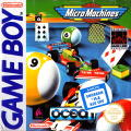 Micro Machines Game Boy Front Cover