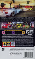 Midnight Club: L.A. Remix PSP Back Cover