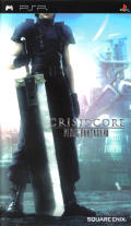 Crisis Core: Final Fantasy VII PSP Front Cover