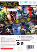 G.I. Joe: The Rise of Cobra Wii Back Cover