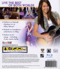 Hannah Montana: The Movie PlayStation 3 Back Cover