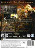 The Lord of the Rings: The Return of the King PlayStation 2 Back Cover