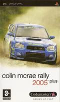 Colin McRae Rally 2005 Plus PSP Front Cover