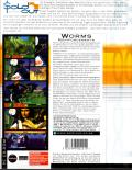 Worms: Reinforcements DOS Back Cover