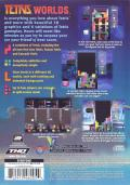 Tetris Worlds PlayStation 2 Back Cover
