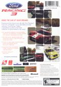 Ford Racing 3 Xbox Back Cover