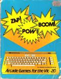 ZAP! POW! BOOM! Arcade Games for the Vic-20 VIC-20 Front Cover