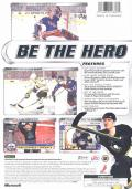 NHL 2002 Xbox Back Cover