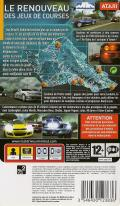 Test Drive Unlimited PSP Back Cover