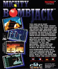 Mighty Bombjack DOS Back Cover