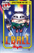 I,Ball ZX Spectrum Front Cover