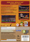 2010 FIFA World Cup South Africa Xbox 360 Back Cover